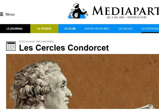 Le site du journal Médiapart accueille plusieurs milliers de Blogs (animés par une personne) et d'Editions (animées par plusieurs personnes ou des associations). La Ligue de l'enseignement anime une Edition […]